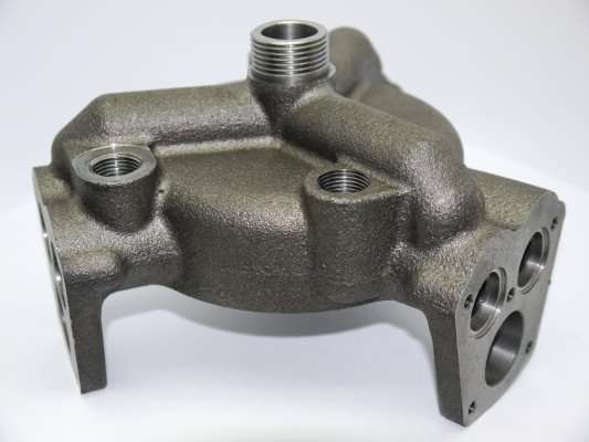 Cylinder Housing-Ductile Iron, 2.9Kg